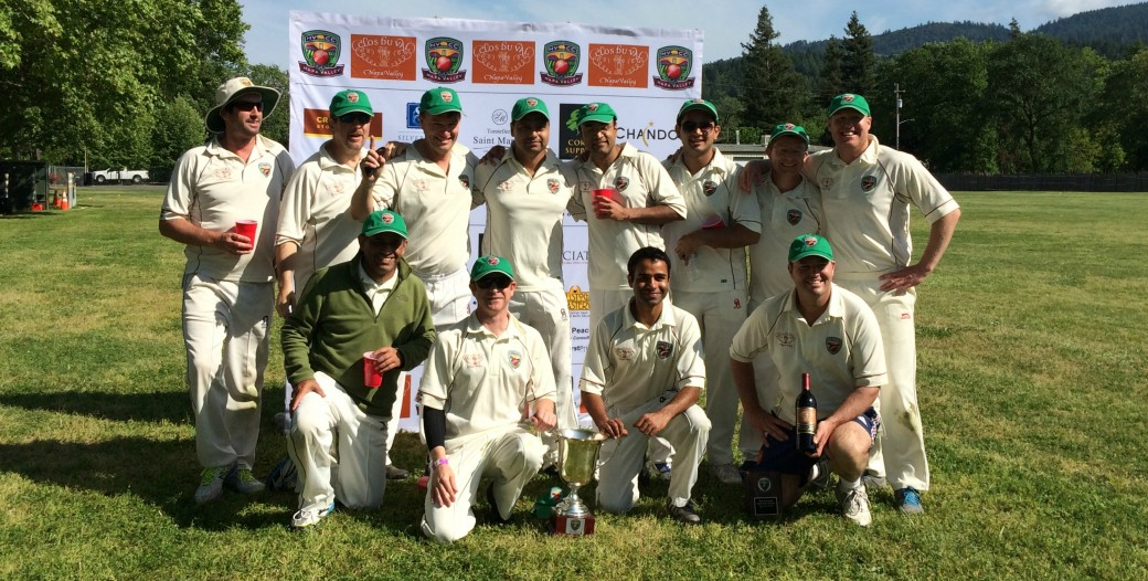 2016 Napa Valley World Series of cricket winners