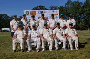 The victorious 2015 Napa Valley World Series of Cricket Australia & America team