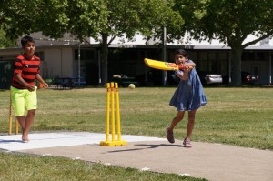 Lots of fun for the kids at the Napa Valley World Series of Cricket season opener Credit Jared Thatcher