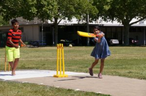 Lots of fun for the kids at the Napa Valley World Series of Cricket. Credit Jared Thatcher