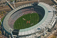 Melbourne Cricket Ground. Credit Wikipedia Commons